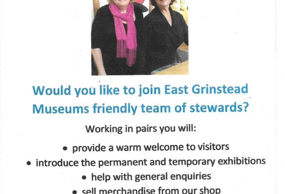 Looking for Volunteers – East Grinstead Museum