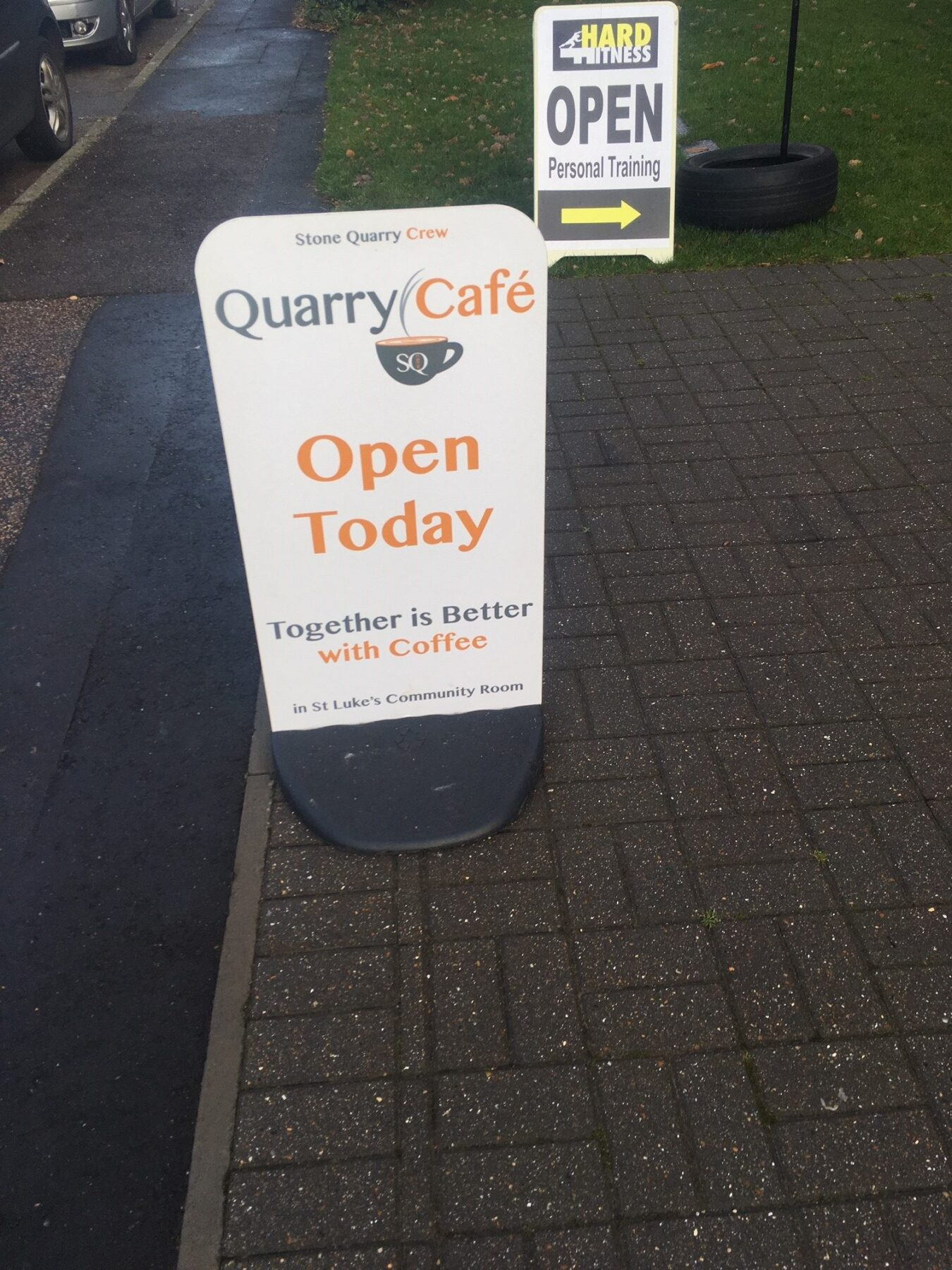 Stone Quarry Community Cafe news.
