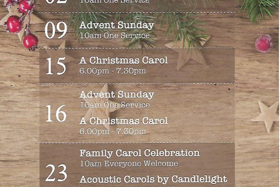Jubille Community Church – Christmas Services