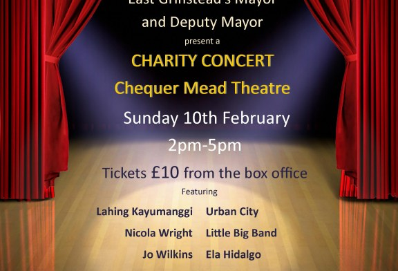 Concert raising funds for Mayor's Charities.