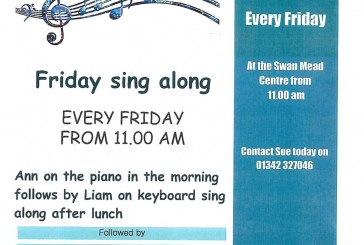 Friday Sing along with Age UK