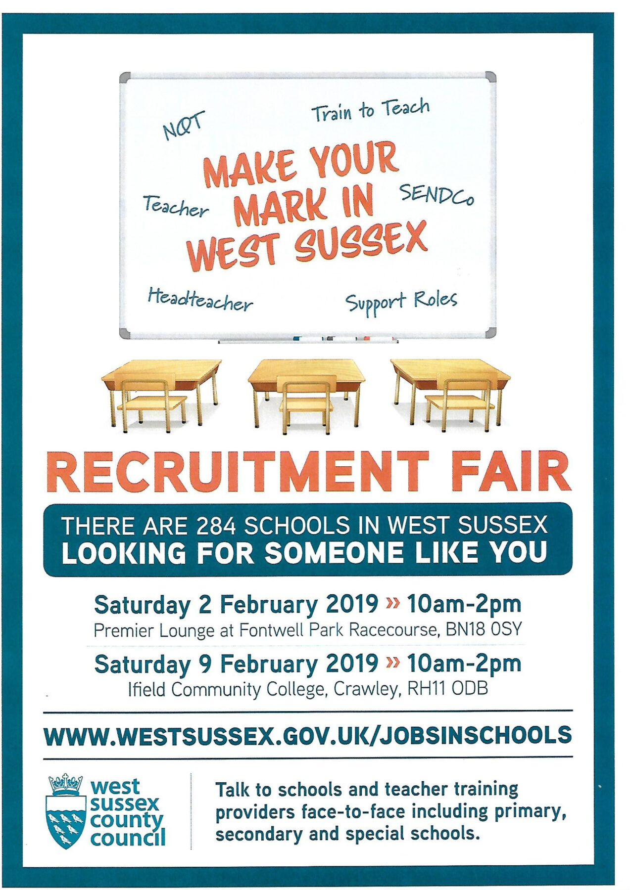 Recruitment Fair / Jobs in Schools