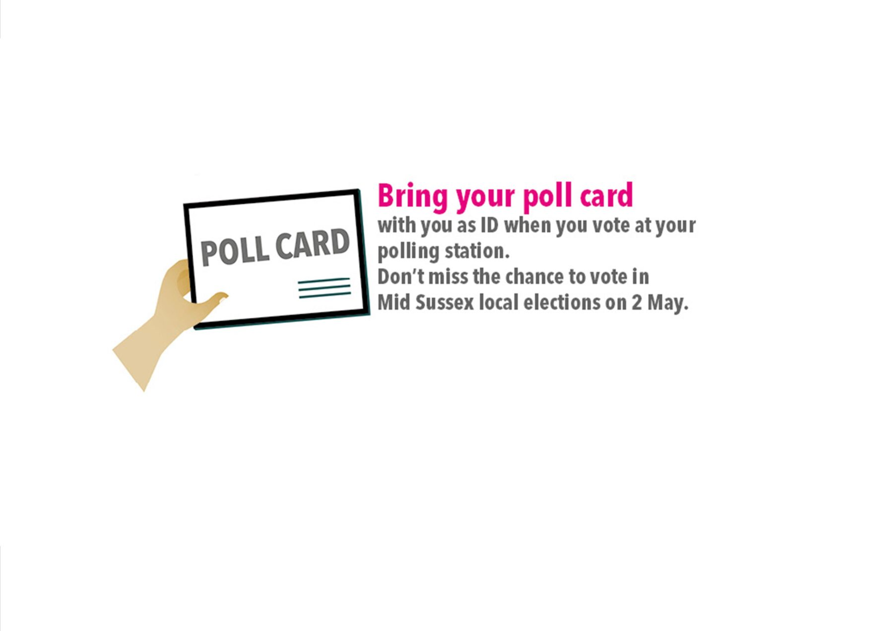 East Grinstead Town Council News : Voter ID