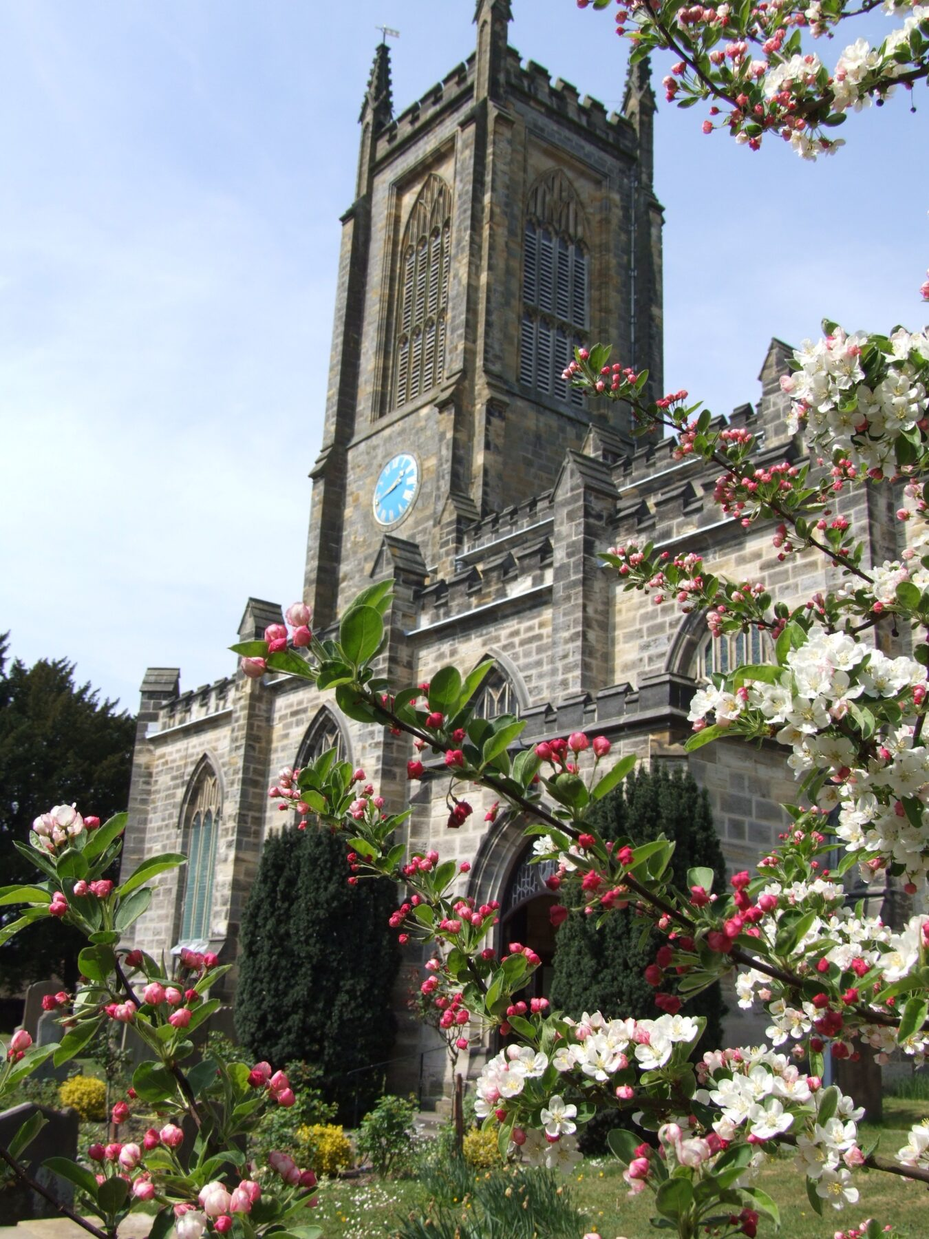 St Swithun's Church Bells will ring at 7pm Thursday 18th April.