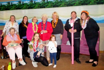 East Grinstead care home resident cruises through Caribbean party