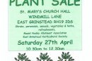 St Mary's Annual Plant Sale