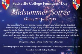 Sackville College Founders Day: Midsummer Soiree