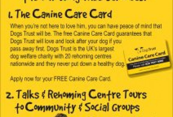 The Dog Trust – The Canine Card