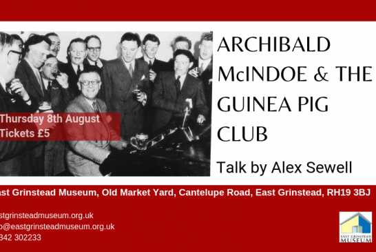 Museum Talk: Archibald McIndoe & the Guinea Pig Club