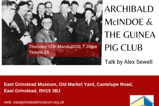 Museum Talk: Archibald McIndoe and the Guinea Pig Club, by Alex Sewell
