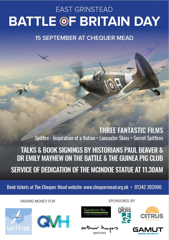 East Grinstead to mark 79th anniversary of the Battle of Britain