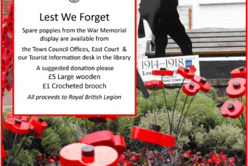 East Grinstead Town Council News: Poppies