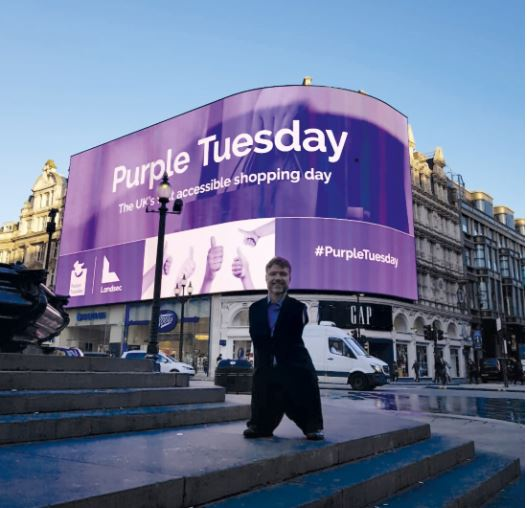 Plus one on Purple Tuesday