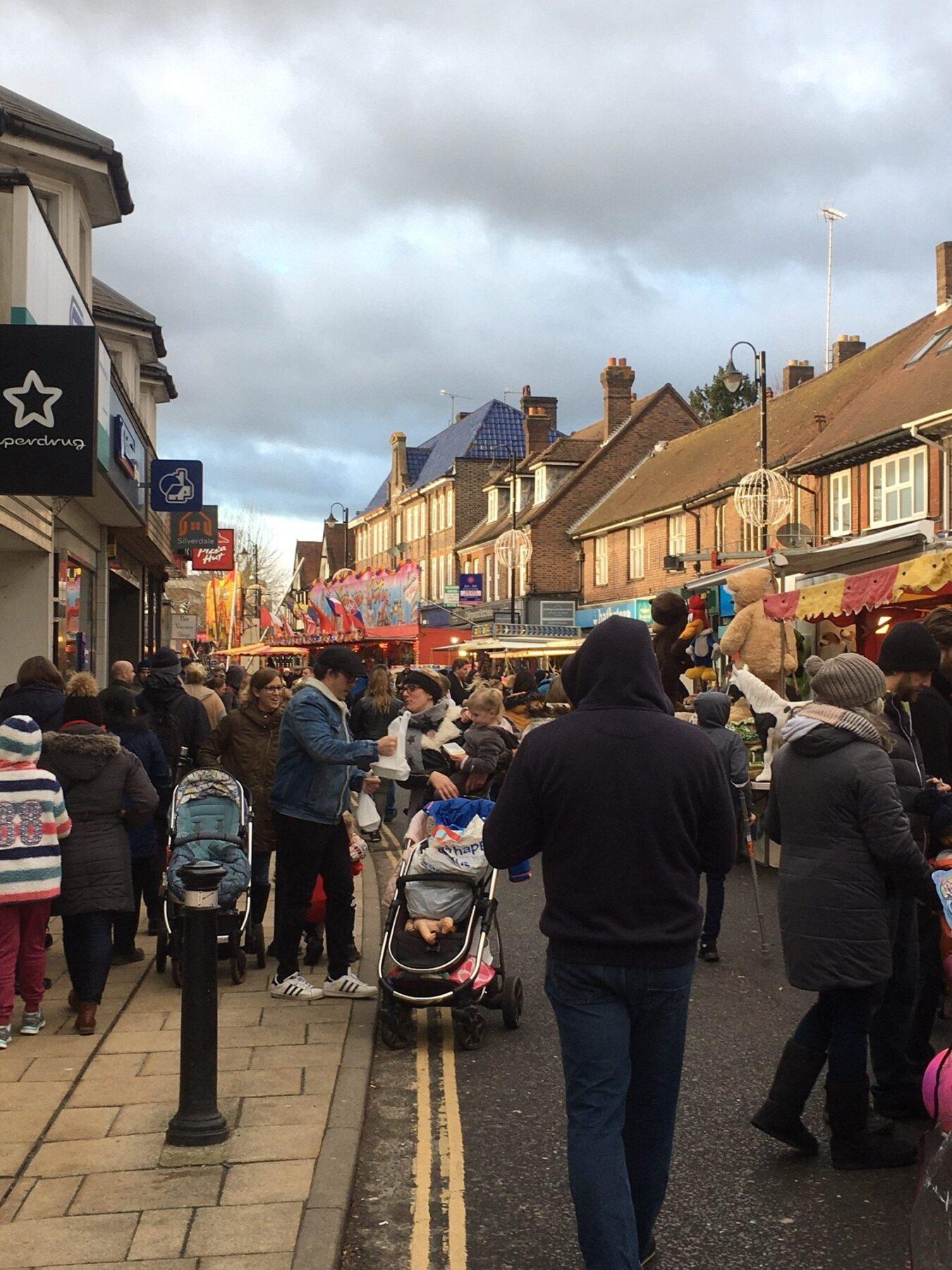 East Grinstead Christmas Family Festival Visit East Grinstead