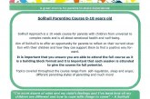 Solihull Parenting Course for 0 to 18 years old