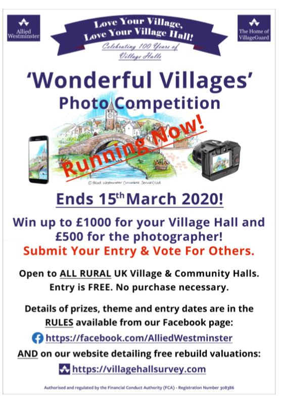"Photo Competition – ""Wonderful Villages"""